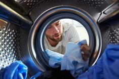 12 Ways You're Doing Laundry Wrong - Common Laundry Mistakes - Thrillist Doing Laundry, Laundry Hacks, Laundry Room, Clean Your Washing Machine, Washing Machines, Dishwasher Detergent, Fabric Softener, Survival Tips, Survival Skills