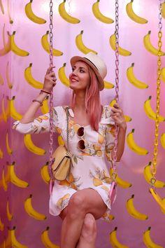 Museum of Ice Cream Los Angeles banana split room