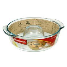 Forma de Vidro para Pudim 1.2L Forno Clássica Marinex :: Artigos para casa e cozinha - Sókaza