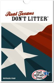 Don't mess with Texas. For more than 27 years, Don't mess with Texas® has been dedicated to educating Texans about the real cost of litter. Through our award-winning ads, statewide road tours, & true Texas pride, we go to great lengths to keep Texas litter-free.