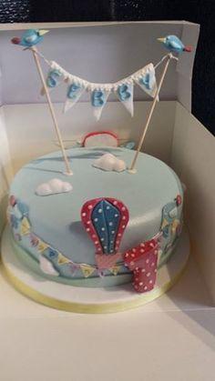 Vintage style birthday cake x