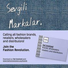 Sevgili Markalar Bir tüketiciniz sizi fotoğrafında mı etiketledi? Bu biz tüketicilerden siz üreticilere bir açık mektuptur. Ürettiğiniz kıyafetlerimizi seviyor ve onların nereden geldiğini merak ediyoruz. Siz de nasıl dahil olabileceğinizi merak ediyorsanız http://ift.tt/2pdQSMv adresinden sizin için hazırlanmış kitapçığı indirebilirsiniz!