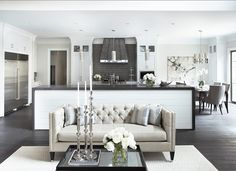 Fabulous Chesterfield Couch decorating ideas for Living Room Transitional design ideas with Fabulous beige couch ceiling & 110 best Transitional Design images on Pinterest | Decorating living ...