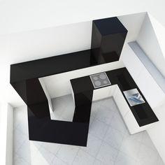 The conceptual kitchen by Svyatoslav Boyarincev, via Behance