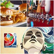 #TeamUS has made it into the quarter finals in the #FIFA Women's #WorldCup! Join us for all the action today at 4:30pm! Enjoy with our #HalfOff all food #HappyHour special!