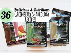 36 Delicious Greenberry Shakeology Recipes, Shakeology, Shakeology recipes, JennBreault.com