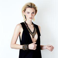 SOLLIS jewellery TULA necklace and KOGO earrings. WWW.SOLLISJEWELLERY.COM