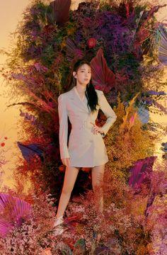 Photo album containing 7 pictures of Sakura Kpop Girl Groups, Korean Girl Groups, Kpop Girls, Sakura Bloom, Fiesta Outfit, Girl Hair Colors, Girl Outfits, Casual Outfits, Sakura Miyawaki