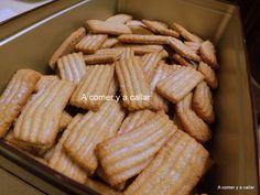 A comer y a callar: GALLETAS DE CANELA, con y sin thermomix Galletas Cookies, Pasta, Sweet Recipes, Cookie Recipes, Sausage, Almond, Meat, Chicken, Food