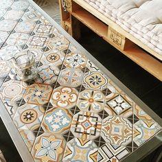 Cultura Decó. Cerámica a la mesa VODEVIL: Octógono Musichalls Multicolor - 20x20cm.   Pavimento - Porcelánico   VIVES Azulejos y Gres S.A. #creativty #tile #decor