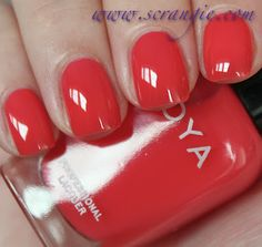 Scrangie: Zoya Blogger Collection by Birchbox Spring/Summer 2012 Swatches and Review - Kate