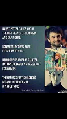 Daniel Radcliffe, Emma Watson, and Rupert Grint are the Perfect Role Models