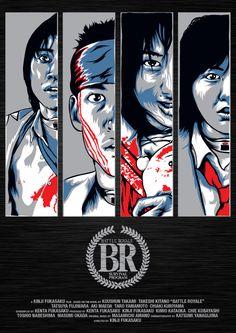 Battle Royale (Dir: Kinji Fukasaku, 2000)