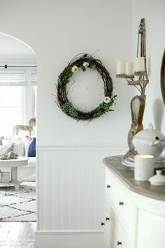 Make your own wreath with  #simplefloralfridays | Tammy Damore & Afloral.com