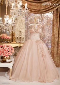 All the things I Love!and PINK! Cats & Pretty things too. Bridal Gowns, Wedding Gowns, Glamour, Here Comes The Bride, Bridal Boutique, Beautiful Gowns, Girly Girl, Dream Wedding, Wedding Castle