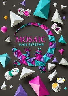 MOSAIC Nail System on Behance