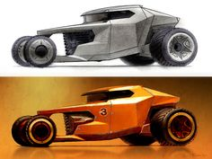 Futuristic Hot Rod Concept by Scott Robertson - Car Body Design