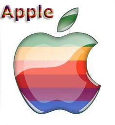 Classic Apple Logo - Bing images