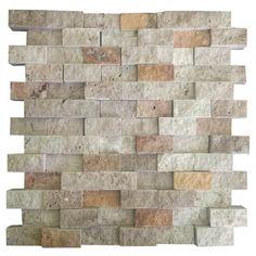 3D Mix 2.5X5 Fileli Patlatma Taş  www.tasdekorcum.com #dekor #patlatmatas #mozaik #dogaltas#naturalstonemosaic #naturalstone  Natural Stone Mosaic Natural Stone Wall Natural Stone Mosaic Subway Wall Tile Fileli Patlatma Taş Doğal Taş Patlatma Mozaik