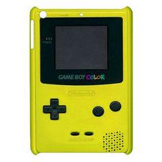 NEW Cute Kawaii Game Boy Color YELLOW iPad Mini Case Cover Cool Retro Game Boy