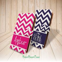Chevron zig zag monogram custom wallet flip pu leather case for for iPhone 6 5 5S, 5C 4 4S, Moto X, Samsung Note 3 4 S4 S5, personalized