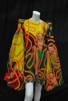 Stephen Sprouse Jacket and Dress a piece from Keith Haring collaboration 2