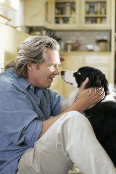 Jeff Bridges #celebrities #dogs #pets
