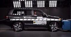 Toyota Land Cruiser çarpışma testi