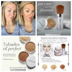 Makeup made easy - yes please! Our Mineral Peptides make walking out the door looking flawless even easier! They contain skin soothing peptides, SPF 20, and can be used to contour your face with our easy to use Kabuki brush so you can control how much or how little you apply.  Also, using our Soothe Moisture Replenishing Cream acts as the perfect primer!   Perfect stocking stuffer for anyone looking to even out their complexion without caking on lots of makeup