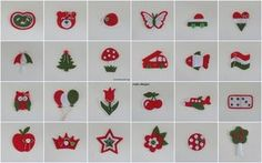 Kindergarten signals in Hungarian national colors (noja design) Bird Crafts, Diy And Crafts, Crafts For Kids, Baba Marta, Republic Day, Independence Day, Advent Calendar, Kindergarten, Origami
