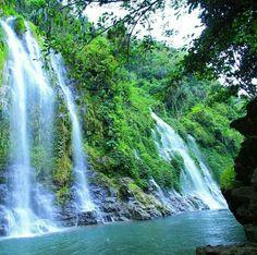 Air terjun Curup Maung, Lahat, South Sumatera