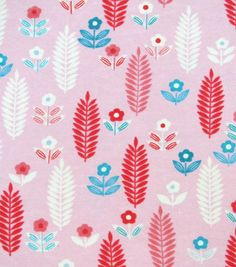Snuggle Flannel Fabric Aztec Floral