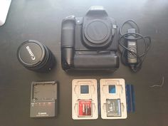 Canon EOS 50D 15.1MP Digital SLR Camera with 18-55mm lens and accessories