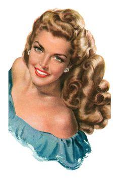 1949 Hair illustralion