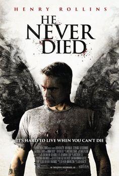 Henry Rollins in He Never Died (2015) Badass movie!! WATCH IT!!!!