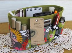 Purse ORGANIZER insert SHAPER / Bag Organizer by DivideAndConquer, $29.95 if this was a man I would marry it