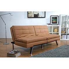 overstock this memphis multi functional contemporary futon sofa bed adds comfort and style