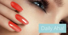 Take off Your Nail Polish—Now! A pigmented stripe in your nail could be a sign of cancer.