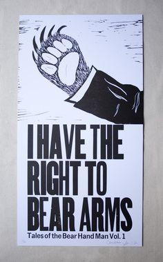 Bear arms...