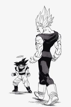 Majin Vegeta vs. Goku. Favorite part of the whole series.