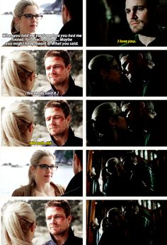 It all makes sense now. #Olicity <3 and makes me mad