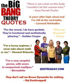 charming life pattern: the big bang theory -quotes Big Bang Theory Zitate, Bob Marley, The Big Bang Therory, Movie Quotes, Funny Quotes, Tv Quotes, Band Quotes, Georg Christoph Lichtenberg, Big Bang Theory Quotes
