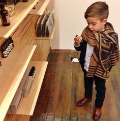 Young men's fashion | Boys | LV scarf