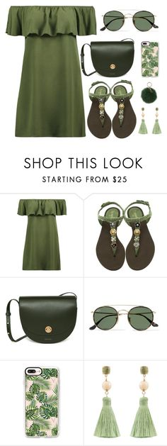 """""""Untitled #30"""" by xxabella on Polyvore featuring Boohoo, Chanel, Ray-Ban, Casetify, Atelier Mon and Coccinelle"""
