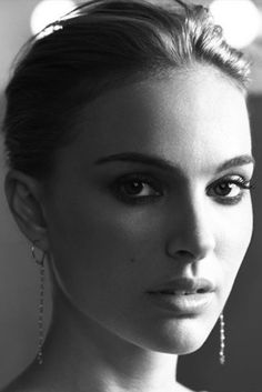 audrey?, black and white, celebrity, girl, natalie portman, photo, photography…