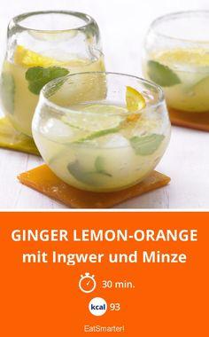 Ginger Lemon-Orange - mit Ingwer und Minze - smarter - Kalorien: 93 Kcal - Zeit: 30 Min. | eatsmarter.de