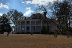 Colonial Plantation Landmark Necolassical Revival Mansion Cochran GA Photograph Copyright Brian Brown Vanishing South Georgia USA 2014