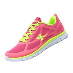 6db71ca743b7 Xtep Womens Running Sport Shoes RedGreen 985218119513     Click image to  review more details.(This is an Amazon affiliate link and I receive a  commission ...