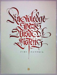 pinterest.com/fra411 #calligraphic: