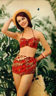 woman_outfit_1960 Swim Suit